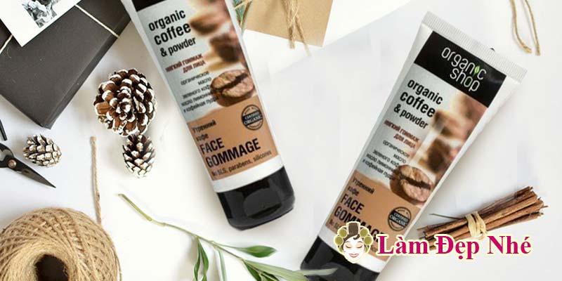 Kem Tay Te Bao Chet Mat Organic Shop Organic Coffee Powder